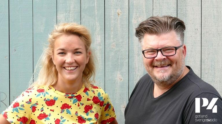 Elin Almén och Jocke Ljungberg. Foto: Jonathan Fältsjö
